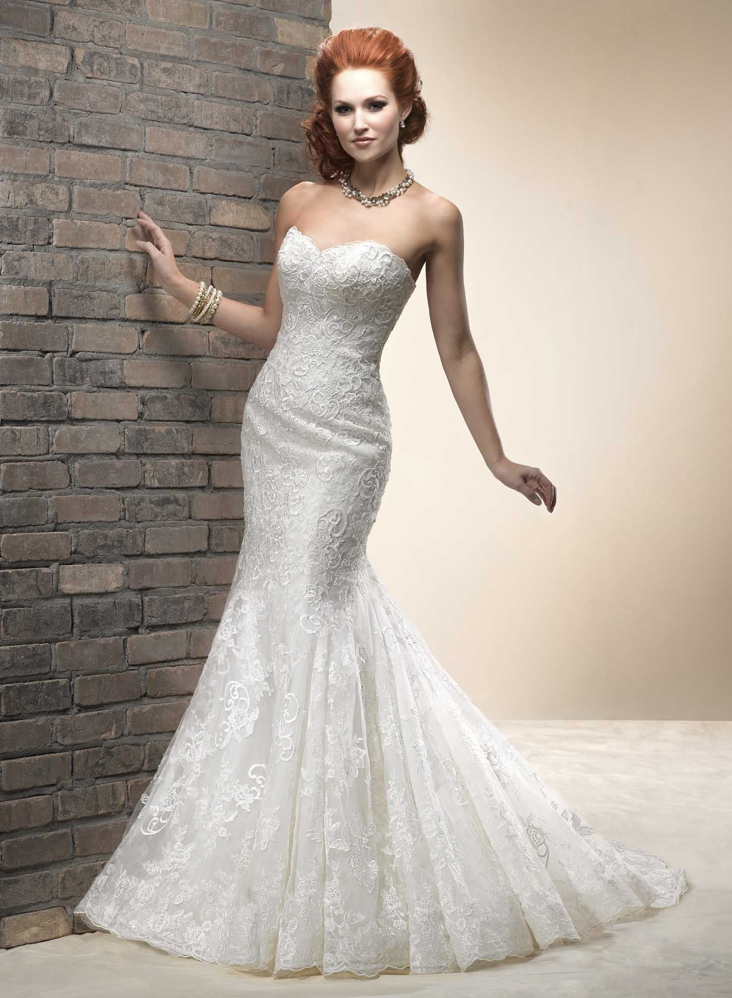 Show Your Beauty in Lace Wedding Dresses on Wedding ...